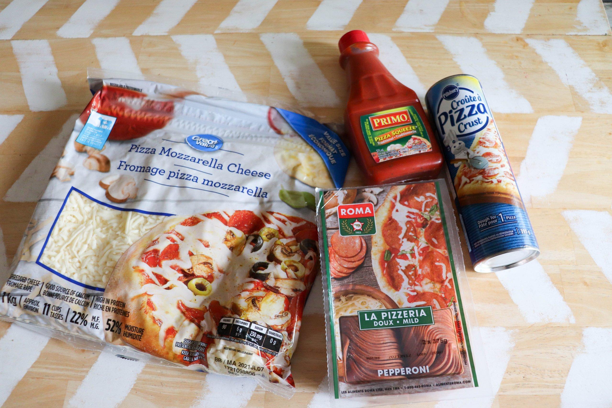Skillet Pizza Ingredients