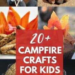 campfire crafts for kids