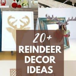reindeer decor ideas