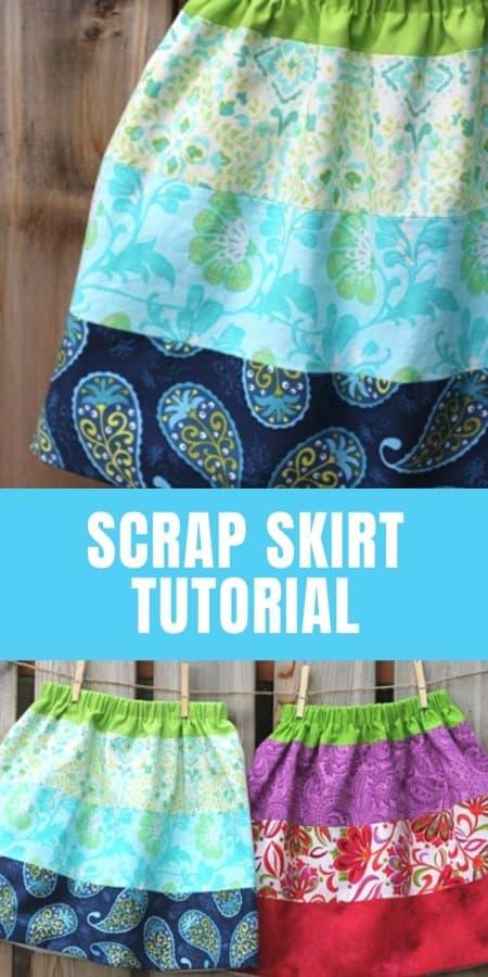 Scrap Skirt Tutorial