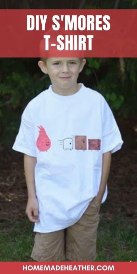 DIY Smores T-shirt