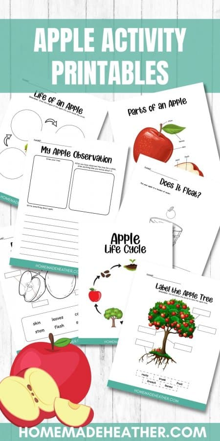 Free Apple Activity Printables