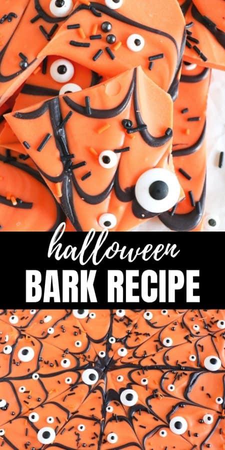 The Best Halloween Bark Recipe