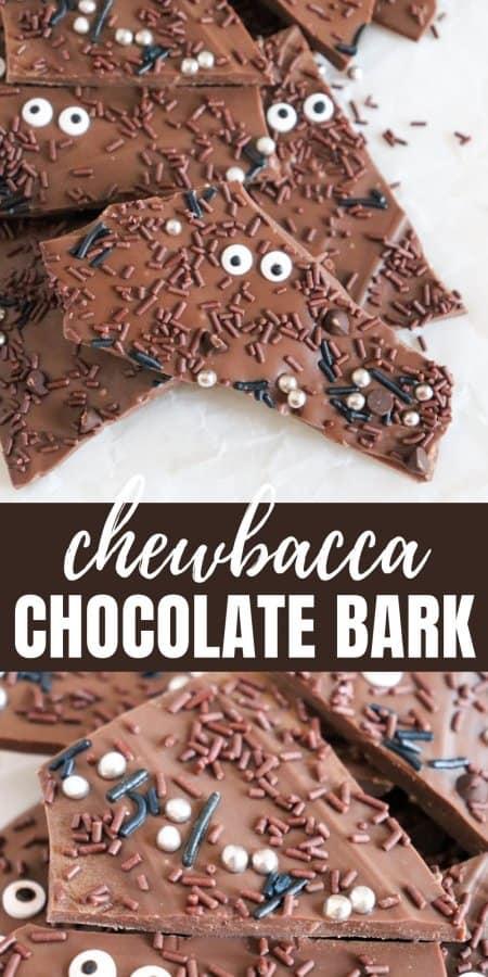 Chewbacca Chocolate Bark