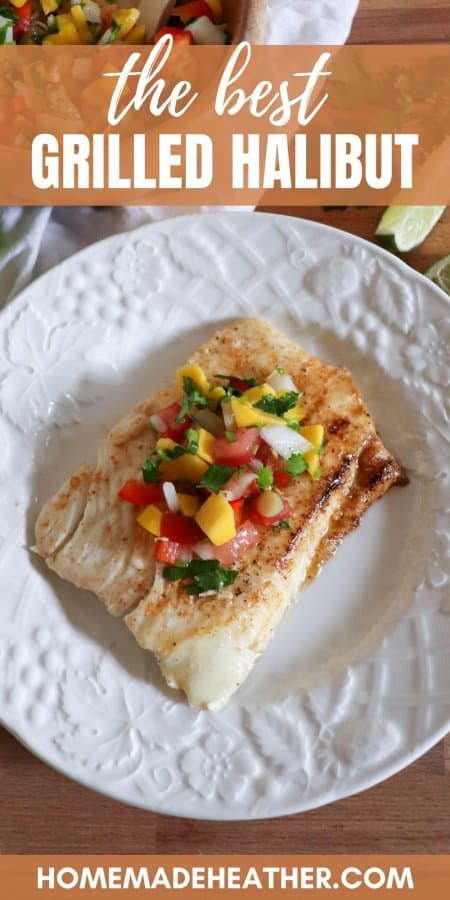 The Best Grilled Halibut Recipe
