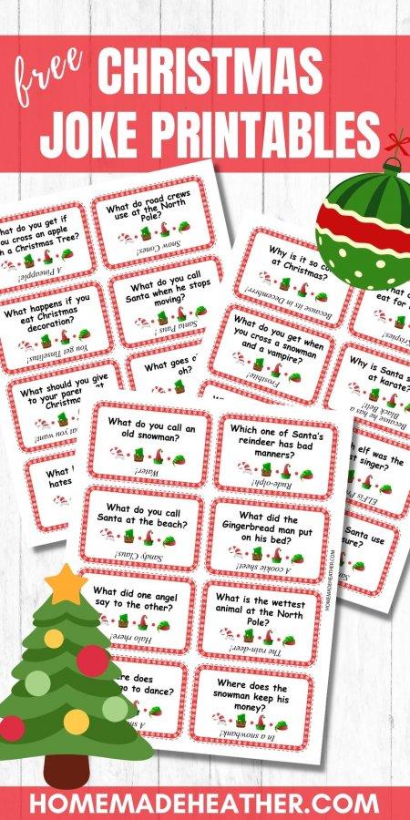 Free Christmas Joke Printables