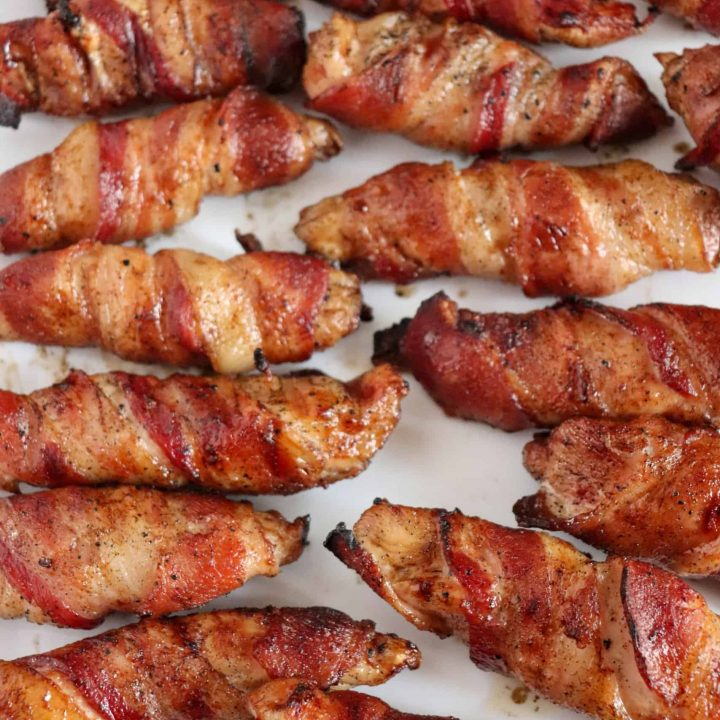 Bacon Wrapped Chicken Tenders