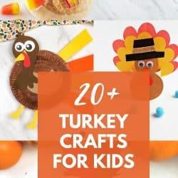 20 turkey craft ideas