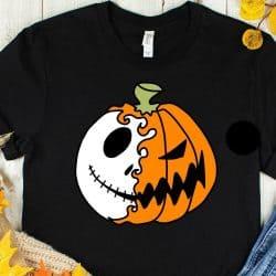 Jack Skellington Pumpkin T-shirt