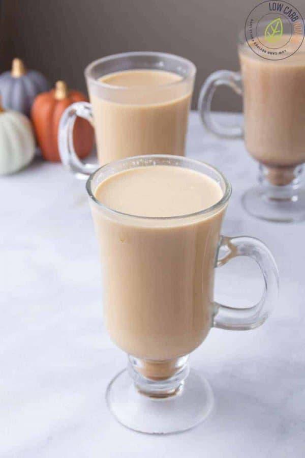 Low Carb Spiced Latte