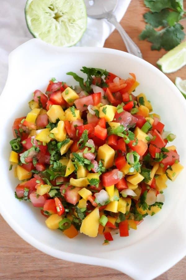 Yummy Mango Salsa Recipe