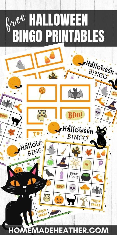 Free Halloween Bingo Printables