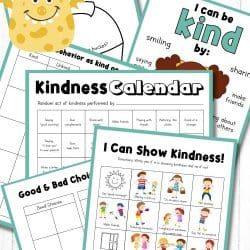 Free Kindness Activity Printables