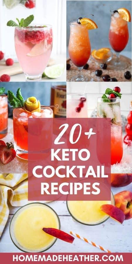 20+ Keto Cocktail Recipes