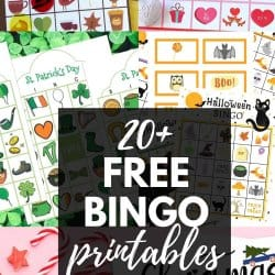 Free Bingo Printables for All Occasions