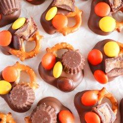 Reeses Chocolate Dipped Pretzel Recipe