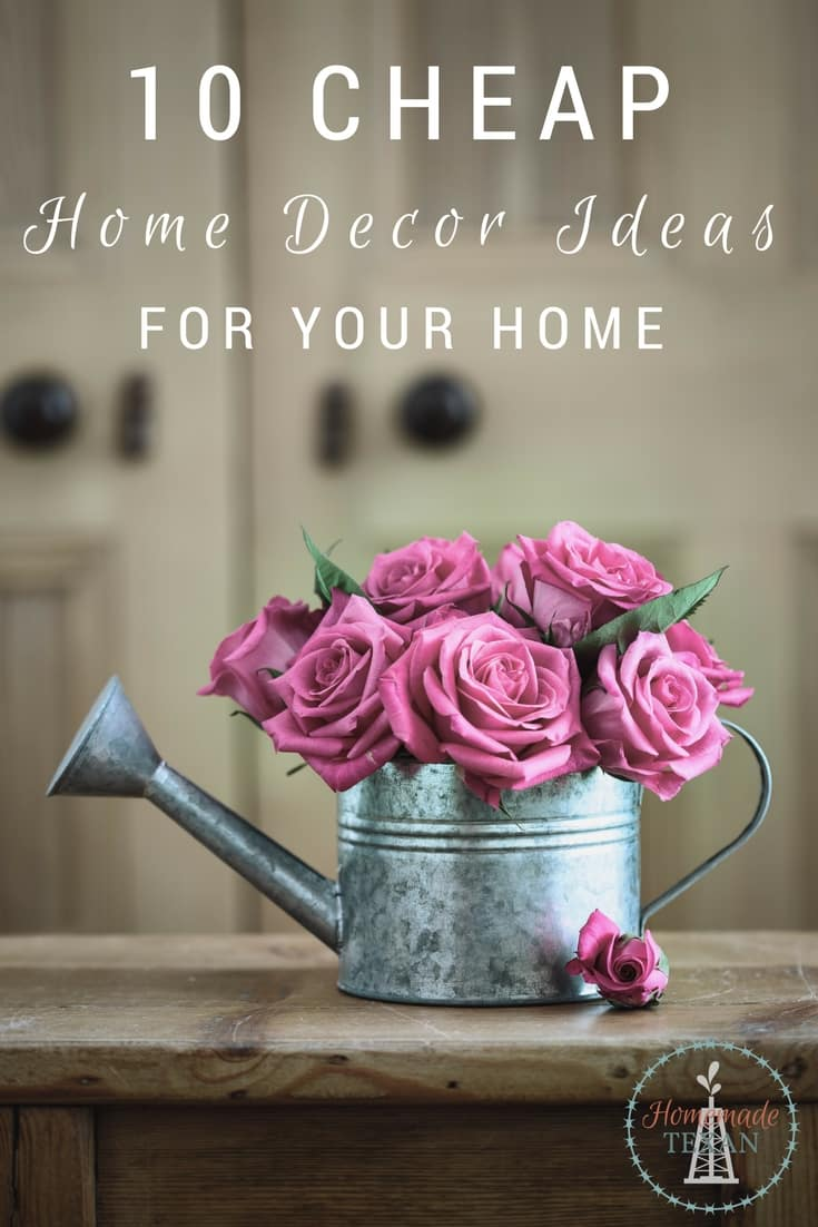 Cheap Home Decor Ideas to Spruce Up Your Home Cheap home decor ideas like these are the perfect solutions to your budget   Decorate your