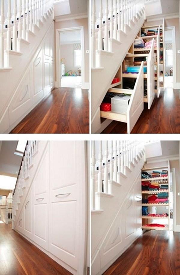 30 Modern Hallway Under Stairs With Storage Ideas Homemydesign | Cabinet Design Under Stairs | Kitchen | Interior Design | Houzz | Stairs Storage Ideas | Understairs Storage