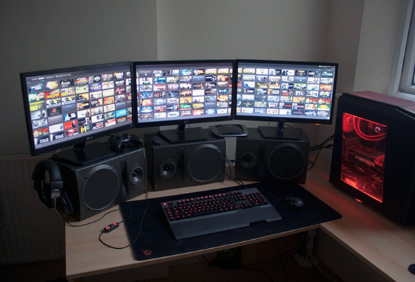 Cool Computer Gaming Sound Setup