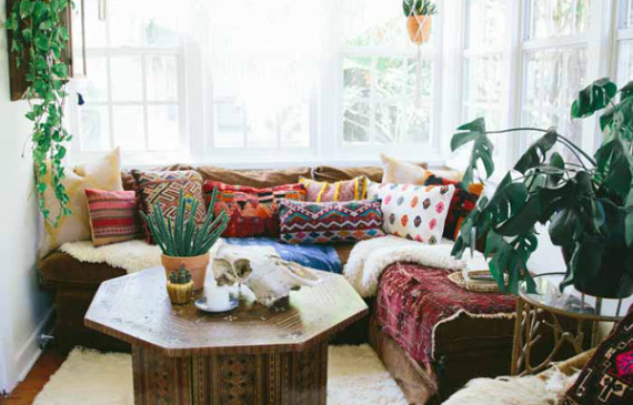 Bohemian Style   Home Design And Interior Gorgeous Bohemian Home With Stories Behind