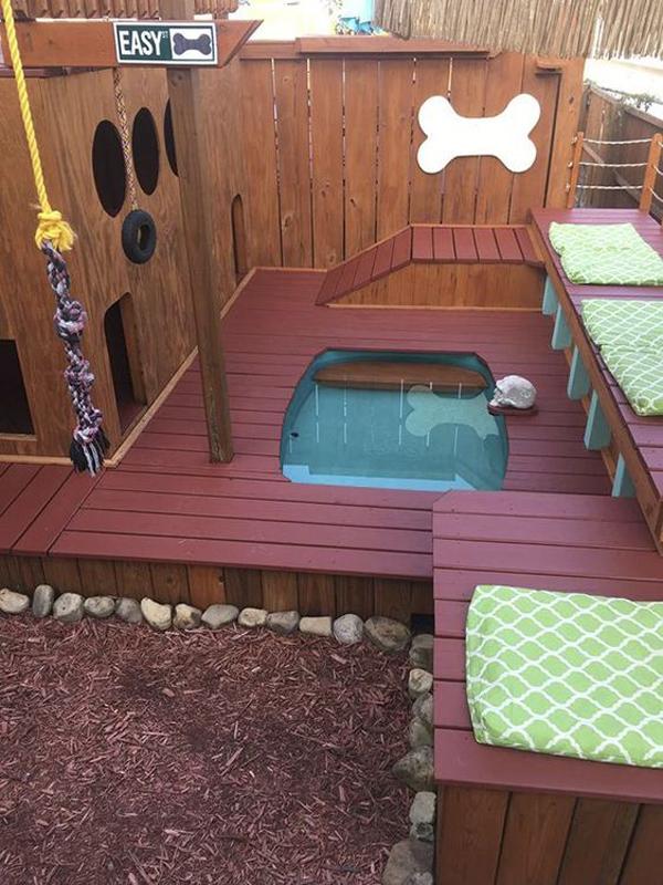 20 Creative Diy Dog Playground In The Backyard Homemydesign