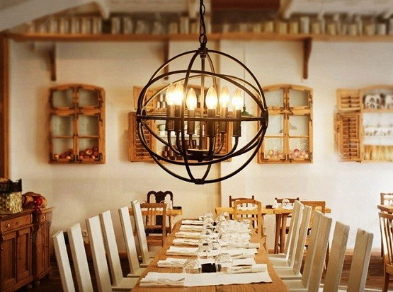 Rustic Barn Pendant Lights