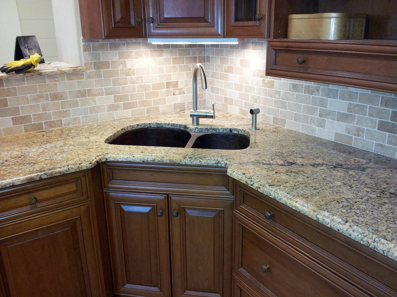 Light Colored Granite Countertops Luxury Home Design