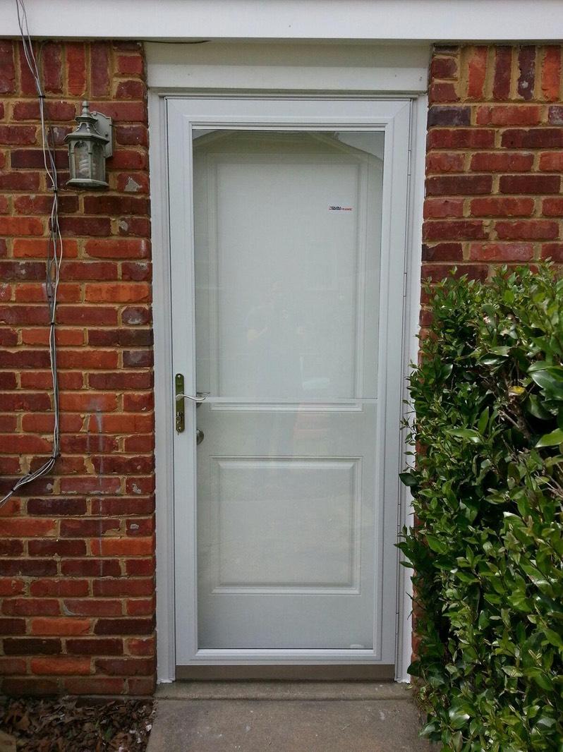 Pella Rolscreen Storm Door
