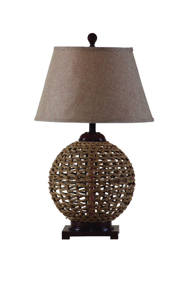 Wicker Table Lamps Concept   HomesFeed Wicker Table Lamps Woven Rattan