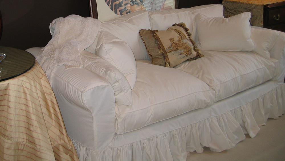 Shabby Chic Slipcovers Couches