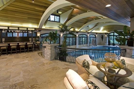Indoor Pool Homes Of The Rich