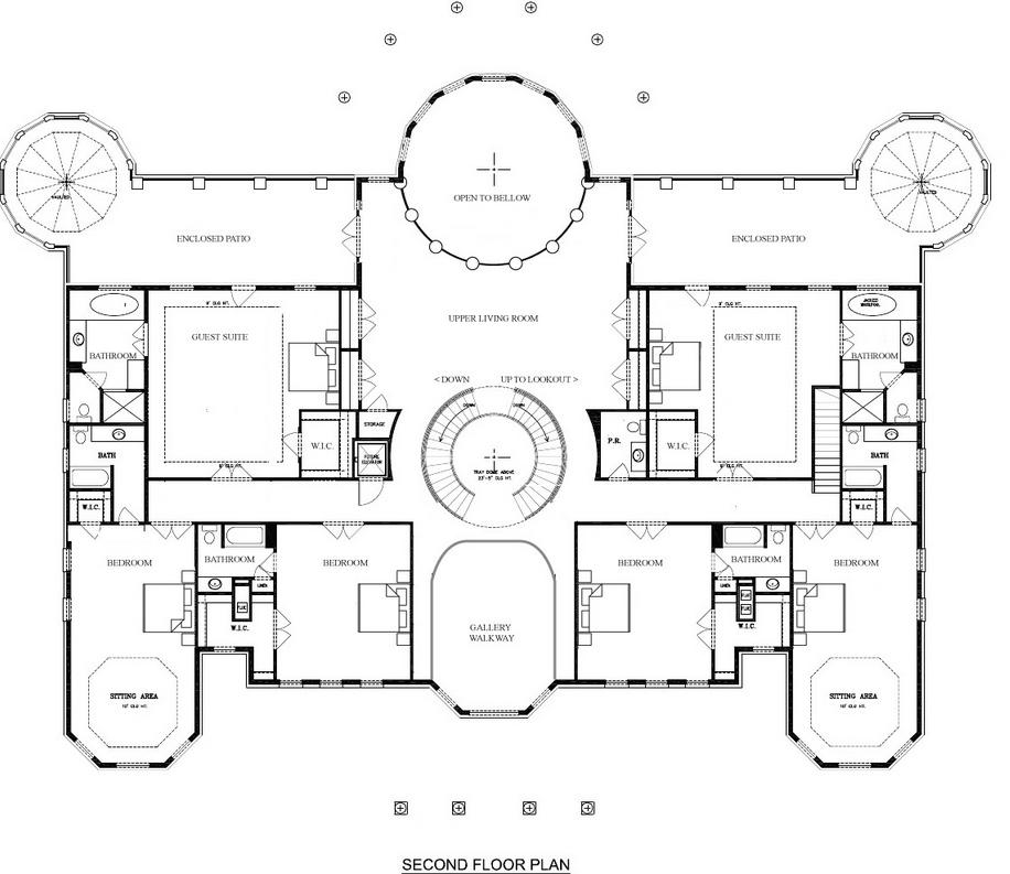 Ballrooms Plans House