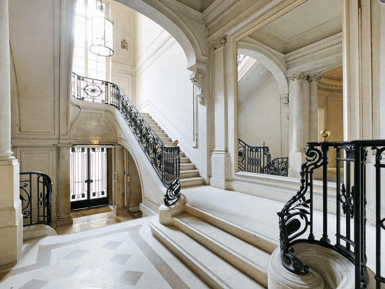 12 000 Square Foot Townhouse In Paris France Homes Of