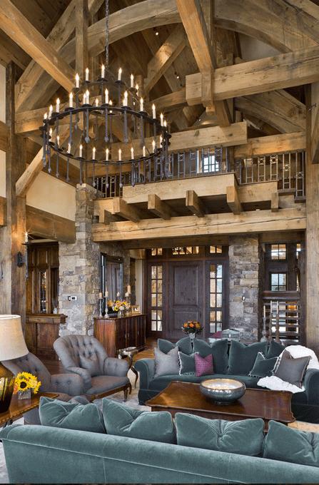 Rustic Elegance In The Yellowstone Club In Big Sky