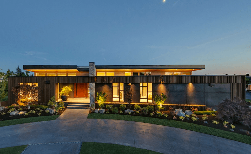 6 288 Million Newly Built Contemporary Home In Clyde Hill