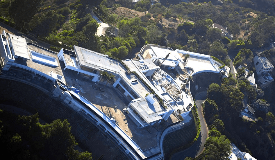 Gwen Stefani Mansion Beverly Hills