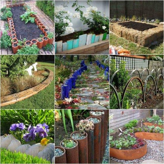 Easy Garden Edging