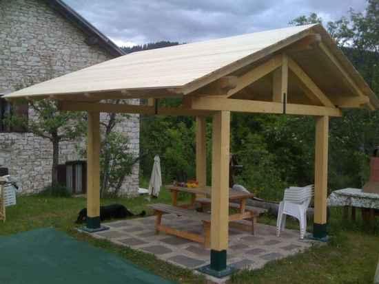 12 Diy Backyard Gazebo Designs And Ideas