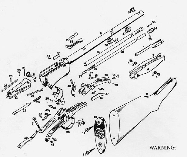 30 30 Winchester 94 Schematic