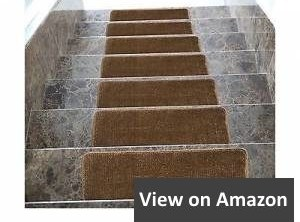 8 Best Carpet For Stairs In 2020 Buyer S Guide And Reviews | Ottomanson Safety Stair Treads | Wood | Dark Beige | Beige | Anti Slip | Slip Rubber Stair