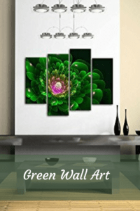 Spruce up Your Home with Enchanting Green Wall Art green wall art   green home art wall decor
