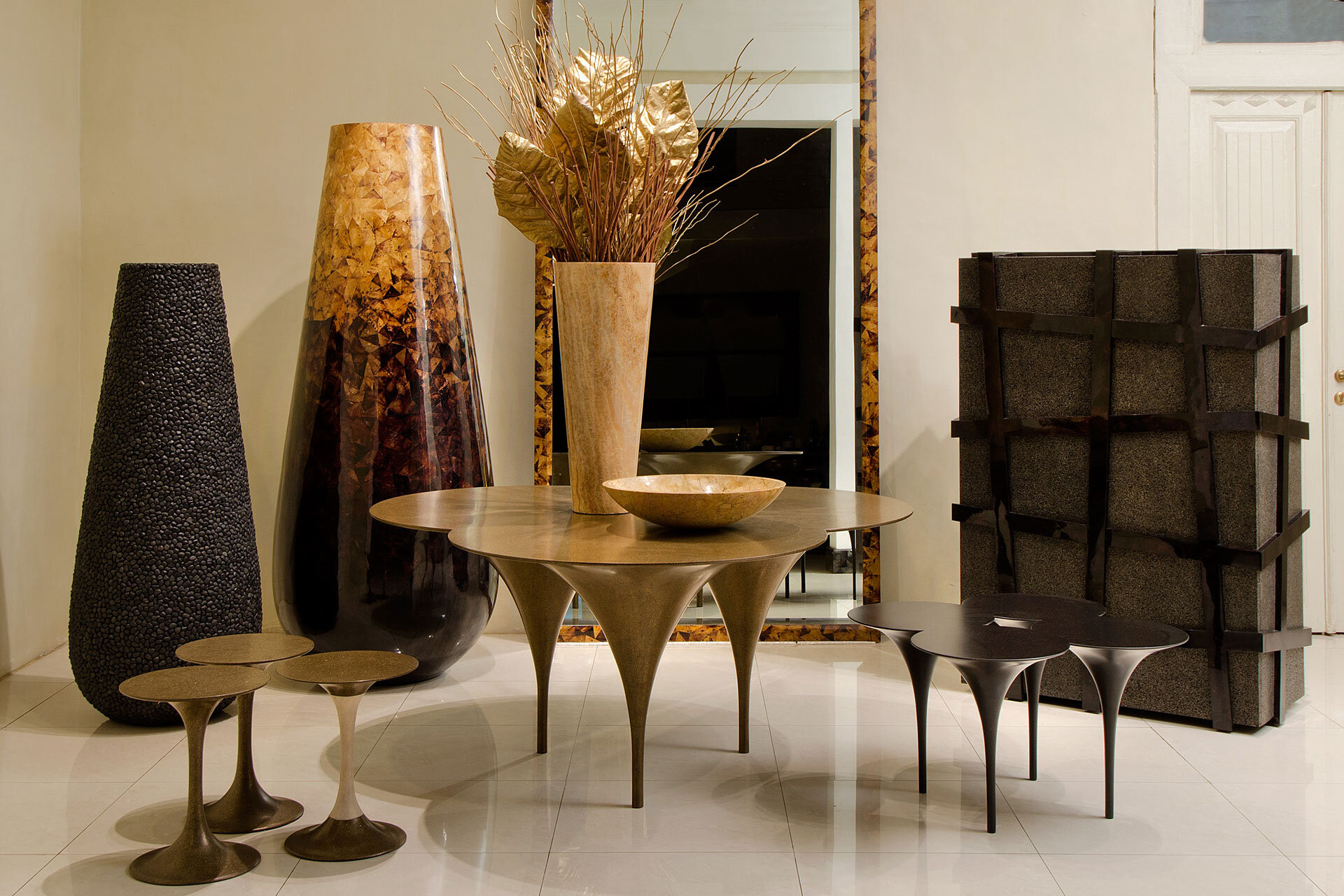Original Furniture With Innovative Materials By Carlo Pessina