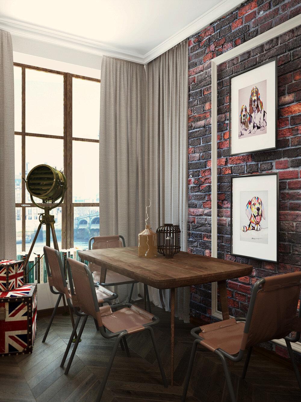 London Sky Eclectic 32 Sqm Studio Apartment In London