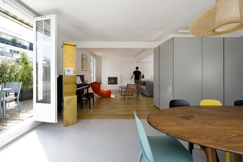 Maisonette Apartment By Ulli Heckmann And Eitan Hammer Paris