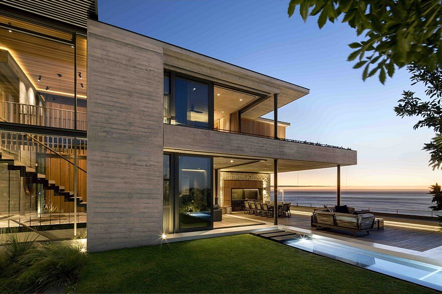 Malan Vorster Architecture Interior Design   HomeWorldDesign Clifton House in Cape Town with a Panoramic View of the Ocean