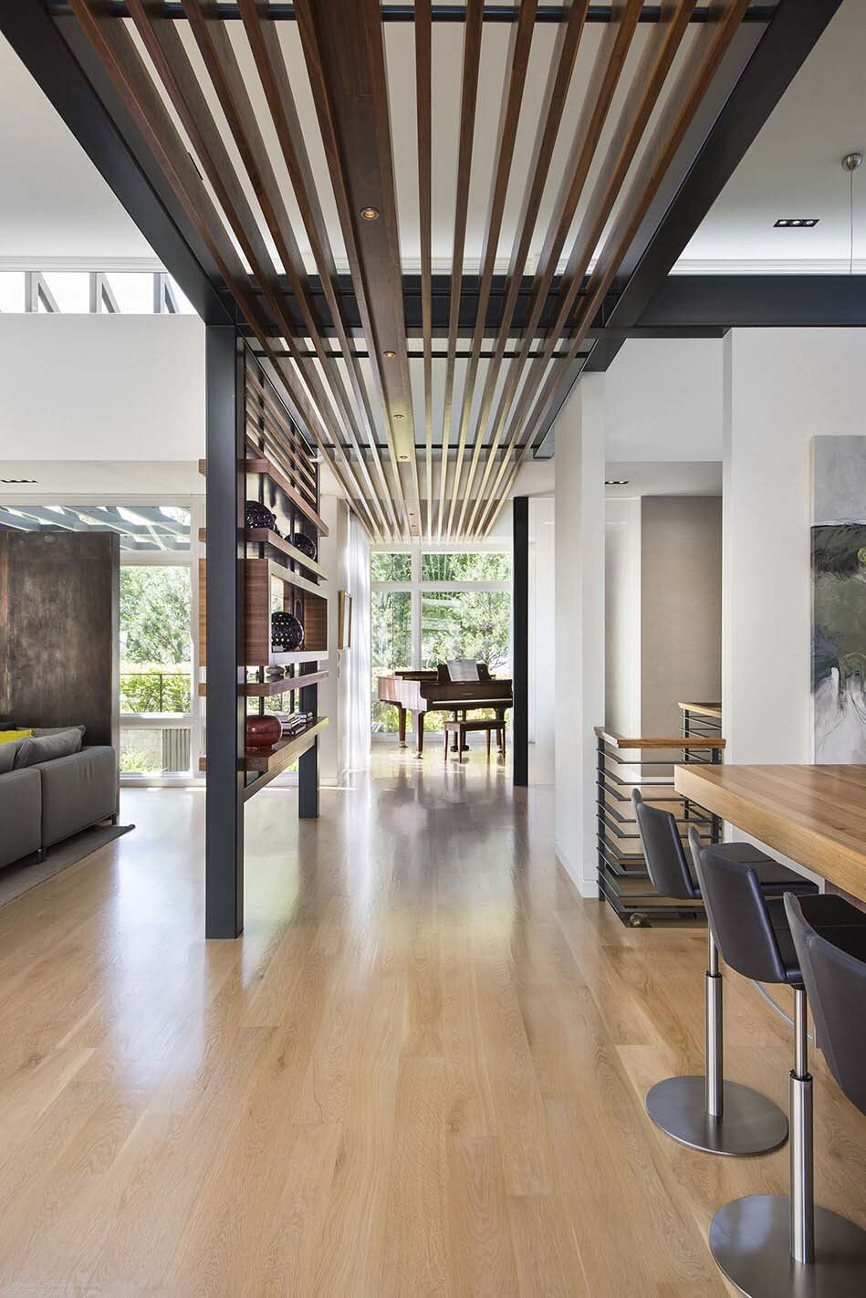 Single Story Ranch With Large Atrium Spaces