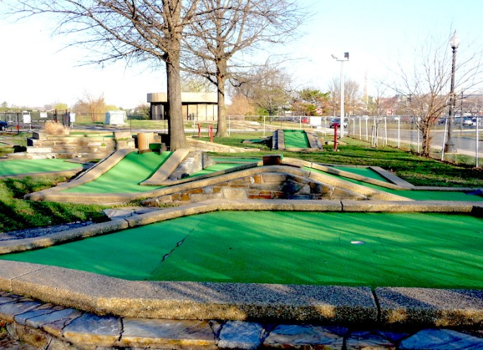 Secretly Awesome  America s Oldest Mini Golf Course Is In D C      Photo  TrailVoice Flickr  Constructed in 1931  East Potomac s