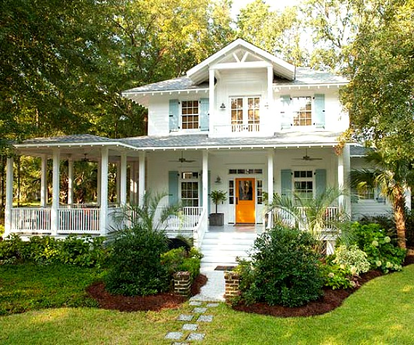 A Family S Coastal Cottage With Quot Fresh Squeezed Quot Color