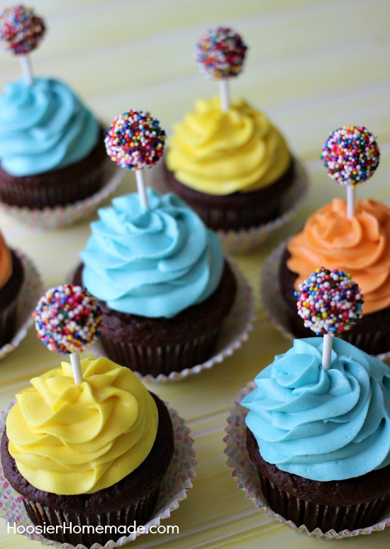 Kid S Birthday Cupcakes Hoosier Homemade