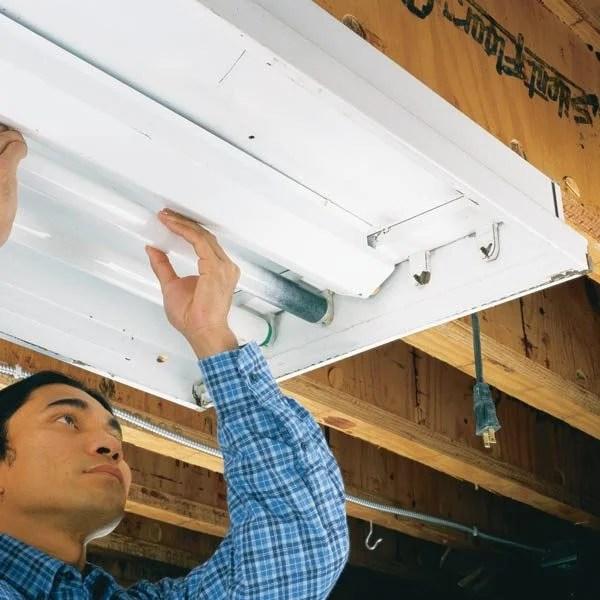 Replacing Ballast Fluorescent Light Fixtures